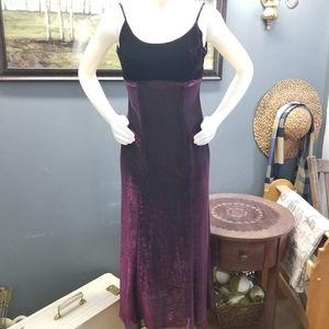2 for $29 Jump Crushed Velvet Purple Dress